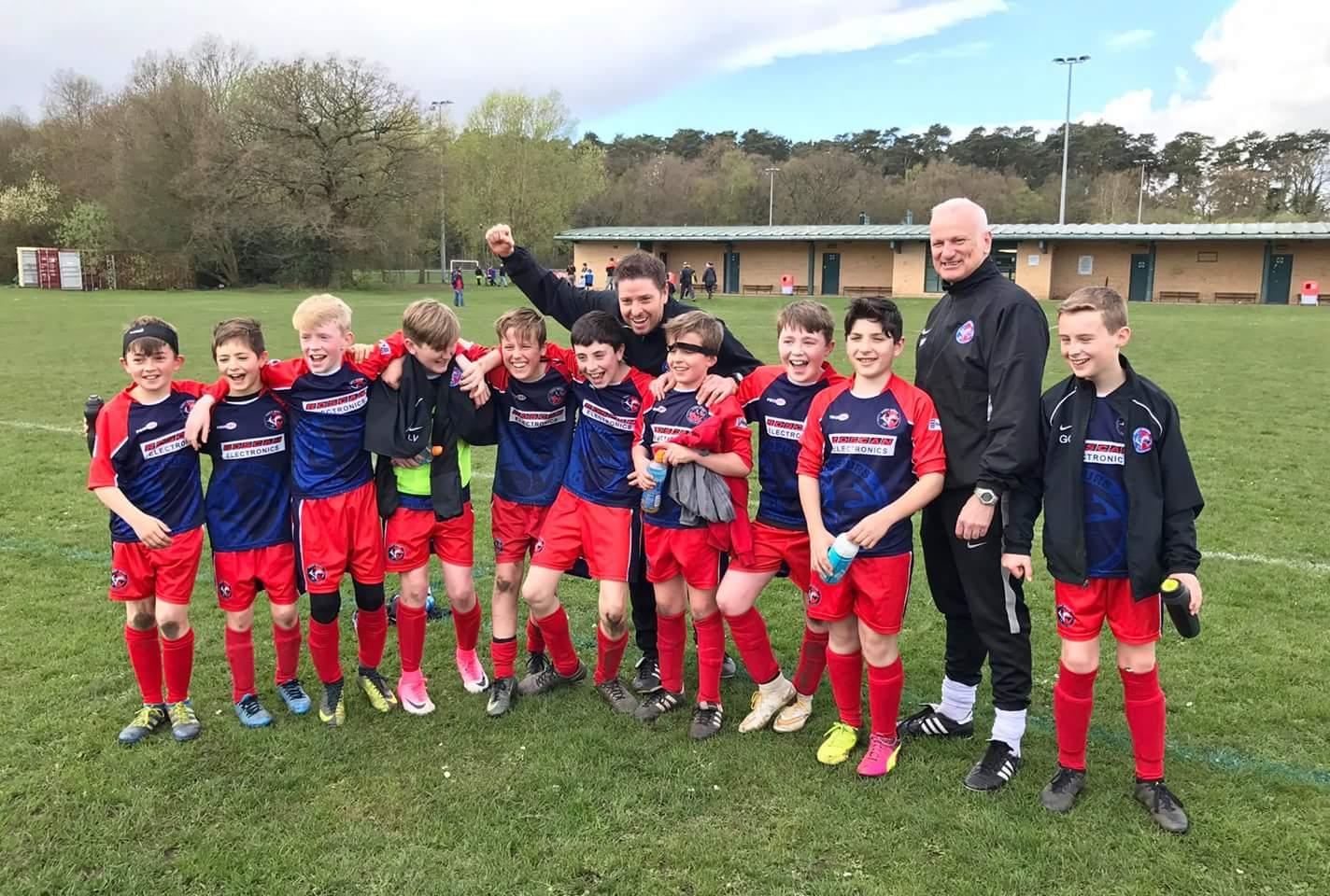 U12 Galaxy Division 4 Champions