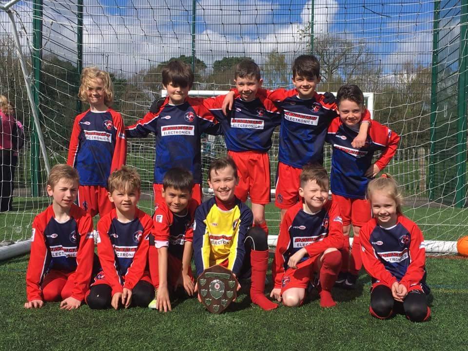 U9 Spitfires Cup Winners