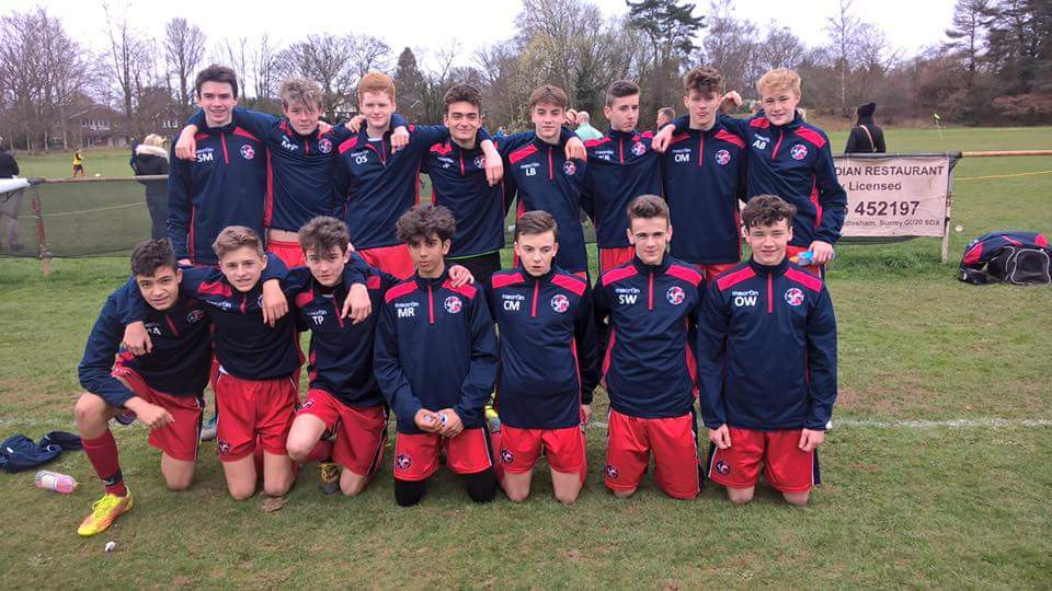 U15 Spartans won the U16 SPL Premier League