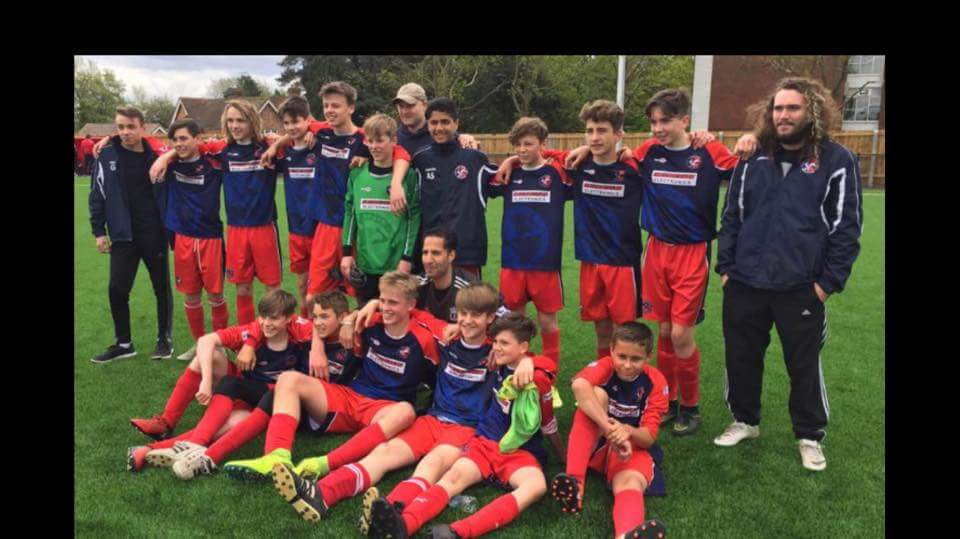U14 Promoted to division 1