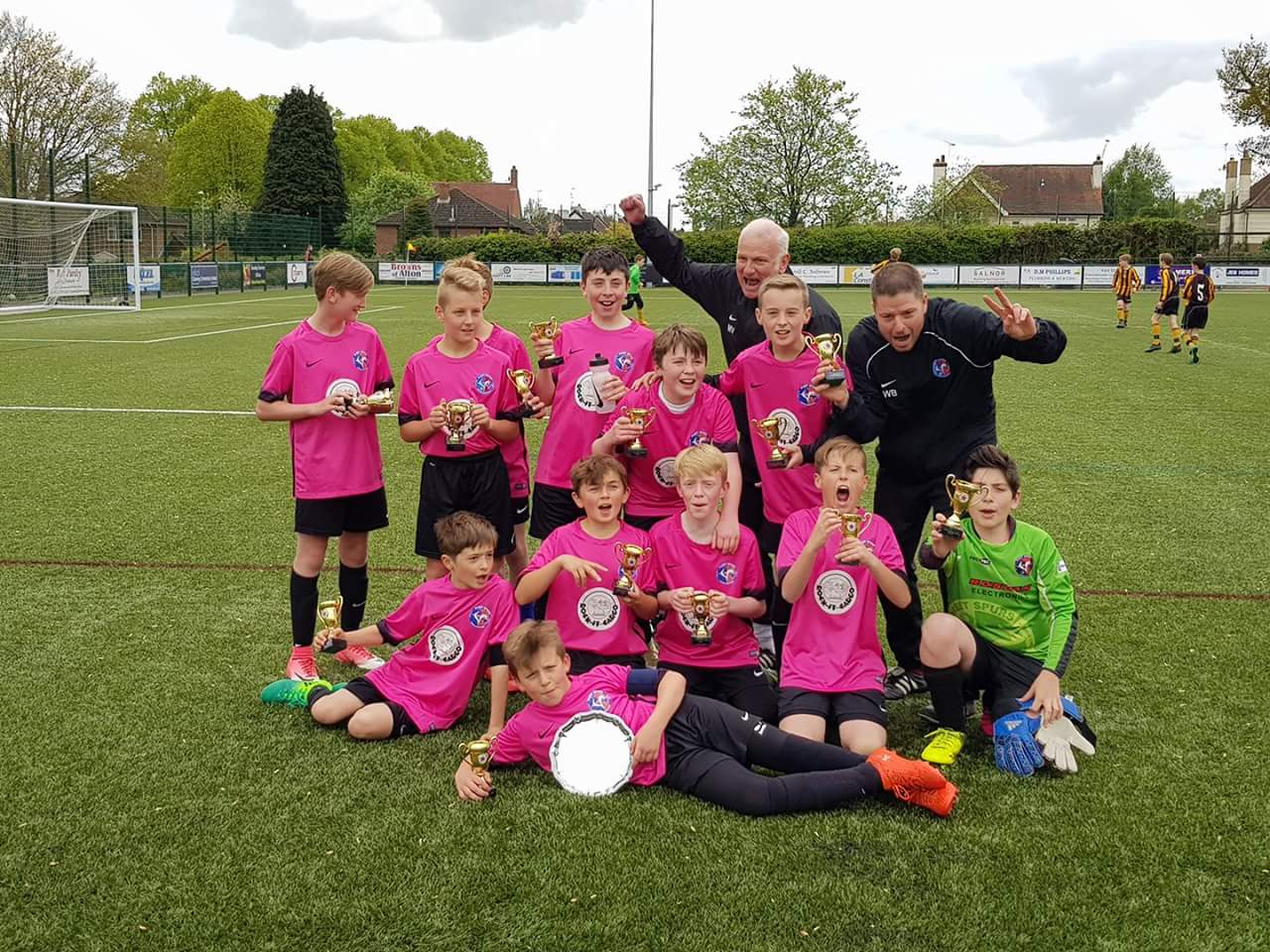 U12 Galaxy Divison 4 Champions and League Cup Winners